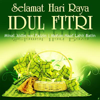 Selamat Idul Fitri - Kartu Lebaran