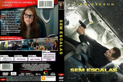 Filme Sem Escalas (Non-Stop) DVD Capa