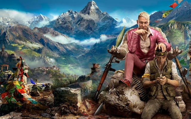 Papel de parede do jogo de aventura e ação far cry 4