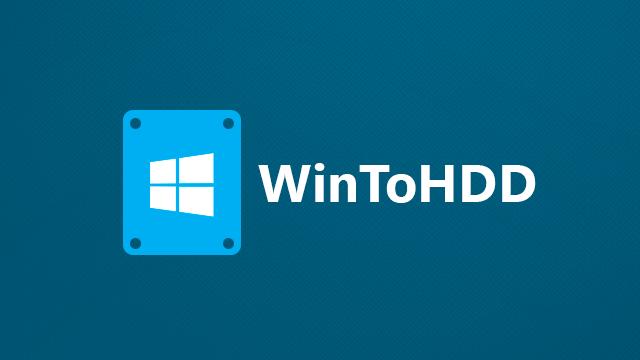 [Soft] WintoHDD Enterprise - CÀI WIN KHÔNG CẦN ĐĨA DVD, USB