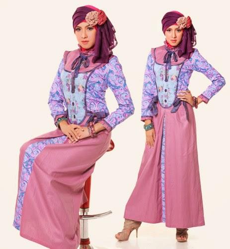 Koleksi Gambar Model Baju Hamil Batik Gamis Muslim Terbaru: Gambar Koleksi Baju Muslim Terbaru