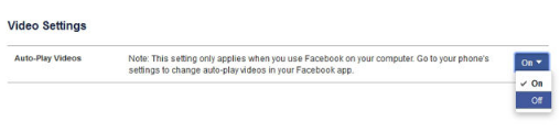 How to Stop Videos From Playing Automatically on Facebook