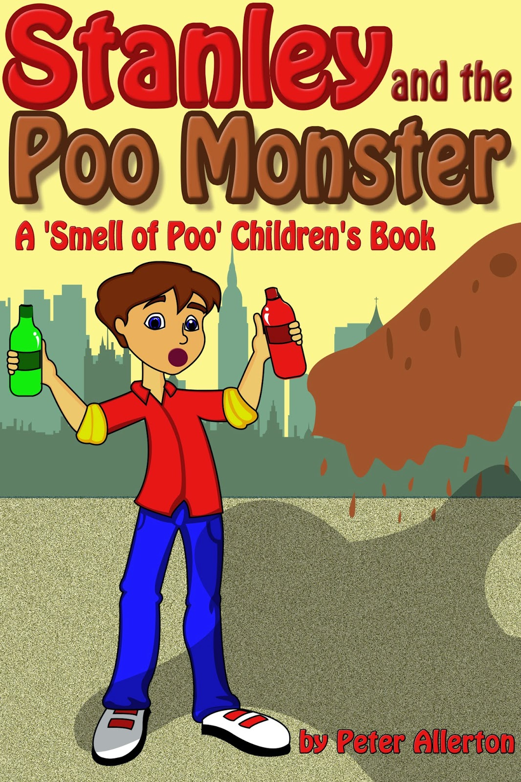 funny children's monster story book