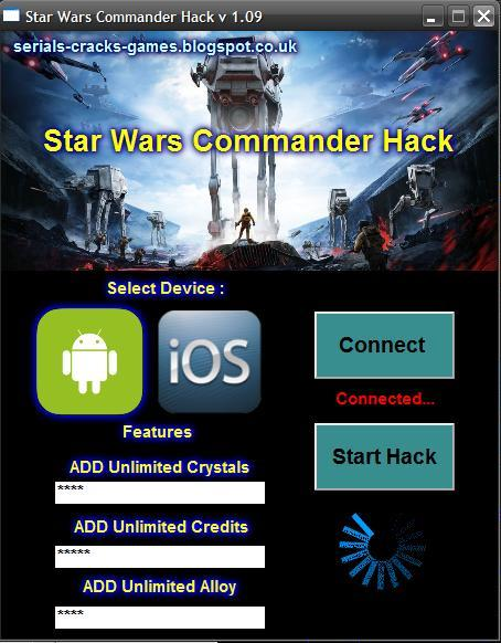 Star wars commander hack download