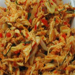 Resep Cara Membuat Ayam Suwir Pedas | Resep Cara Membuat Masakan Enak Komplit Sederhana