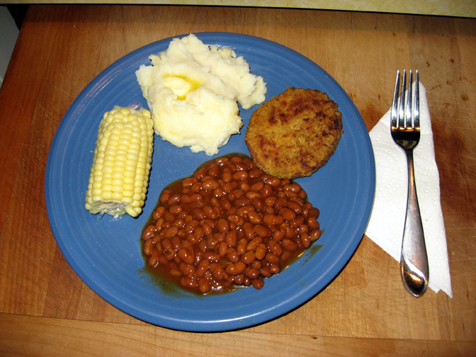 The Potluck Vegetarian: Ranch Fried Vege-Chicken