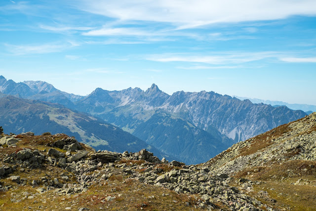 Gipfelweg Zamangspitze  Wandern Silvretta-Montafon  Vorarlberg 15