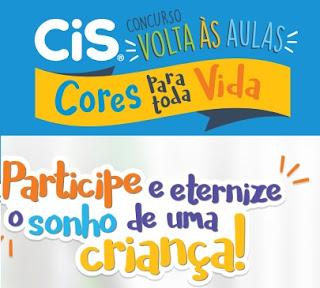 Cadastrar Promoção CIS 2017 Cores Para Toda a Vida