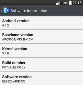 LG Optimus G roll-out Android KitKat update in India