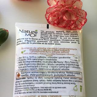Nature Moi, wygrana w konkursie Kaczki z piekła rodem, otrzymana od EkoDrogeria.