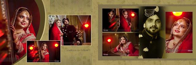 Marriage Photo Album Design