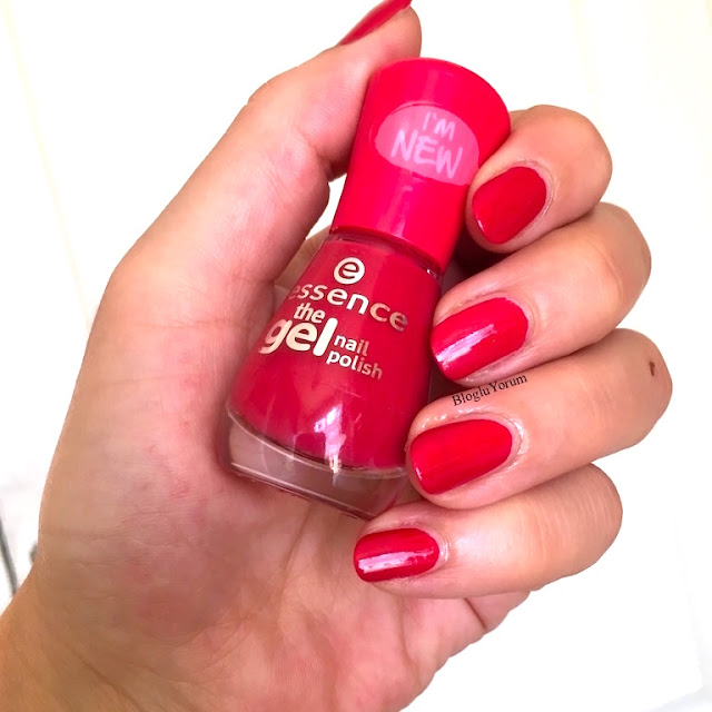 essence the gel nail polish 92 red carpet jel oje 4