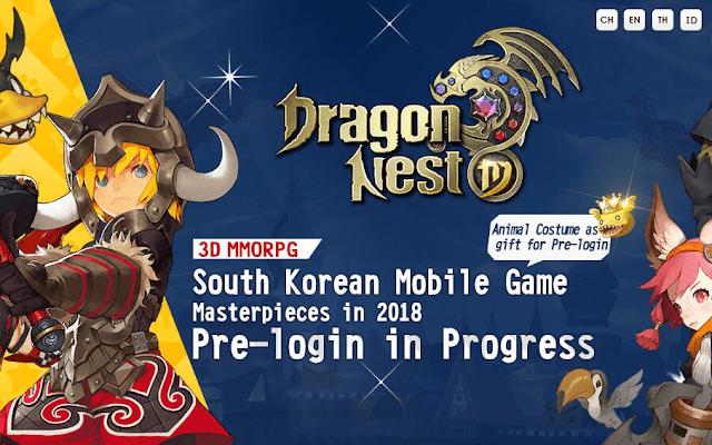 Cara Mendapatkan Kostum dan Gold Hadiah Pre-login Dragon Nest M