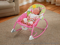 Baby Bouncer Fisher-Price Infant-to-Toddler Rocker Princess Mouse
