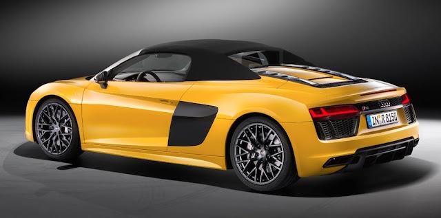 アウディ、高性能な新型モデル「R8ロードスター」「TT RS」「RS3セダン」の日本発売を発表!