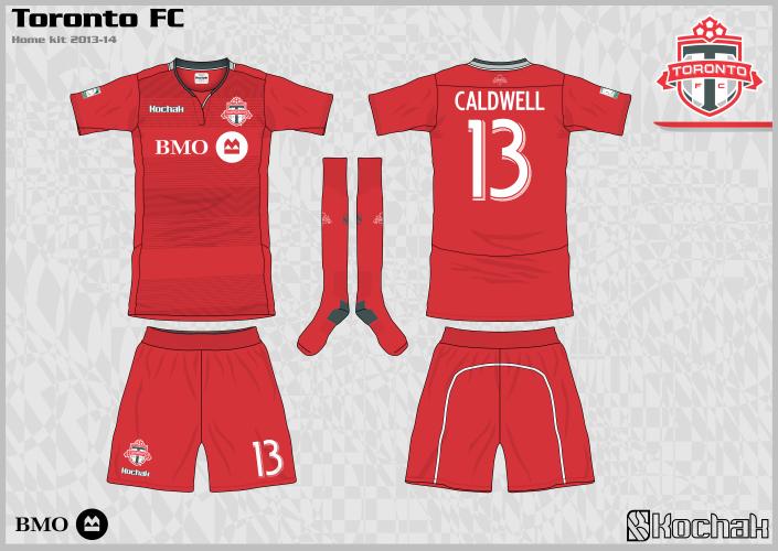 big sale 17df3 47b4b Concepts: Toronto FC Football Kits | FOOTY FAIR