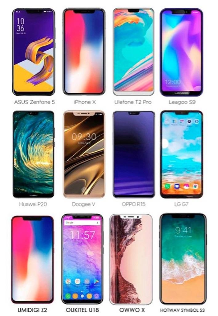 smartphone notch