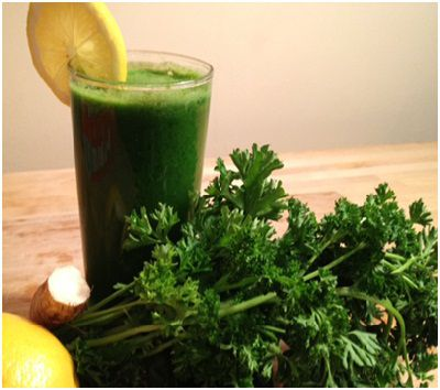 Health benefits of drinking parsley juice