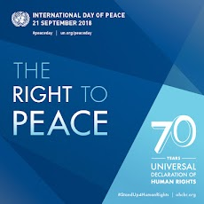 International Day of Peace - 21 September 2018 Theme and Notes