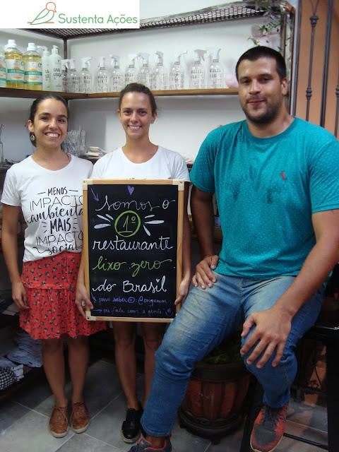 Os sócios Alexandra Lemos Nunes Dias, Joana Wosgrau Câmara e Artur Ferreira dos Santos, da esquerda para direita
