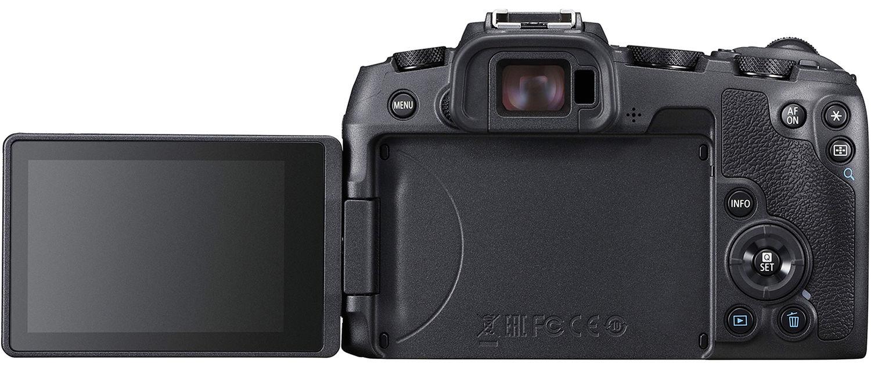 Canon EOS RP, с откидным экраном