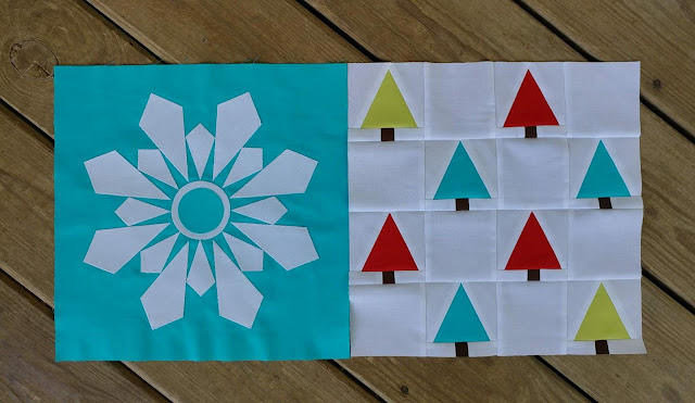 Quilt blocks for Christmas QAL