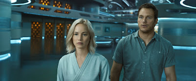 HQ PHOTOS: New Stills of Jennifer Lawrence and Chris Pratt in Passengers