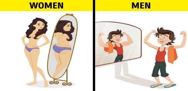 10 Contoh Sederhana Tentang Cara Pandang Pria dan Wanita