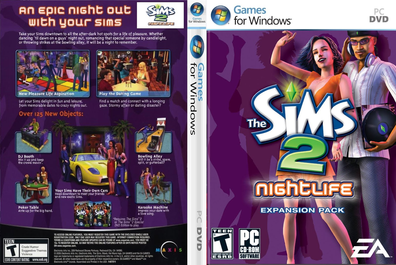 Sims 2 nightlife dating game