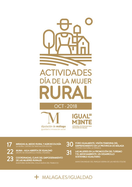 Día Internacional de la Mujer Rural Málaga 2018