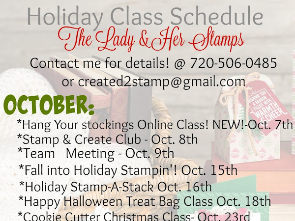 Class List is NOW up!