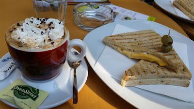 Desayuno en Belgrado