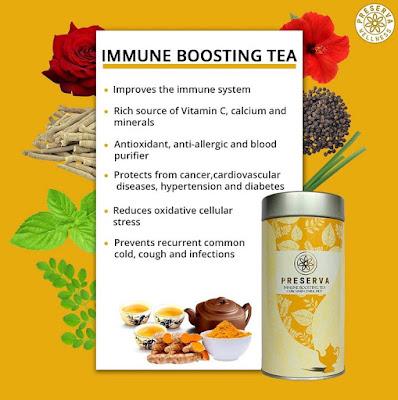 Immune Boosting Tea | Curcumin Tea | Turmeric Tea