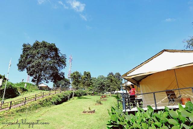 camping mewah di Trizara Resorts Lembang