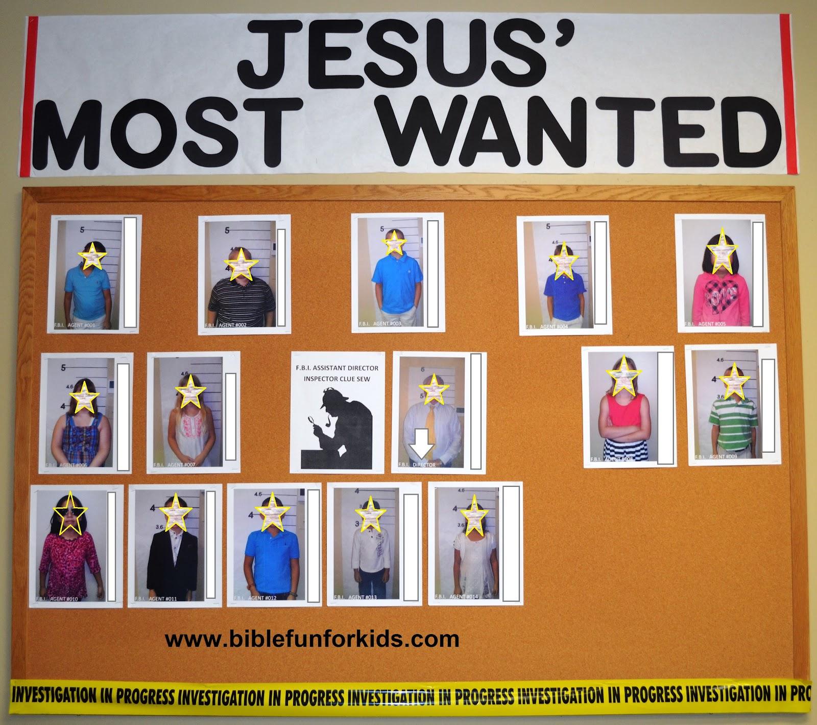 Bible Fun For Kids: FBI: Classroom Decorating Ideas