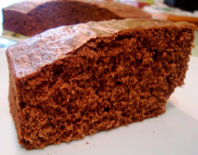 Pastel de Chocolate  (Chocolate cake) Receta