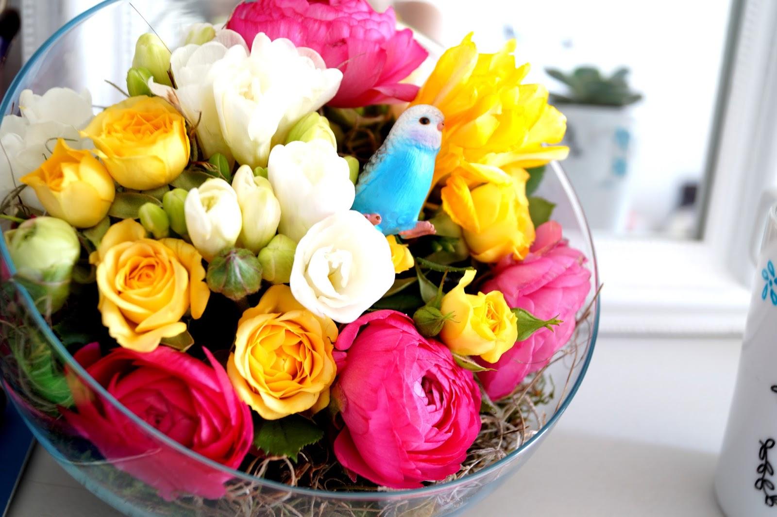 diy retour sur la flower party chez truffaut chicas de revista blog mode bordeaux. Black Bedroom Furniture Sets. Home Design Ideas