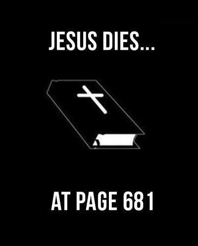 Jesus dies ... at page 681