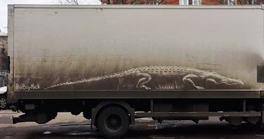 A arte na poeira