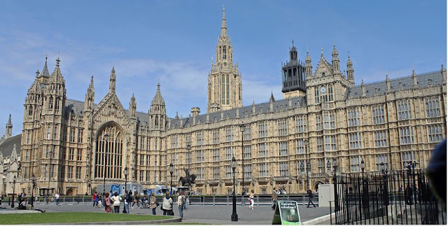 Wall Art of Palace of Westminster