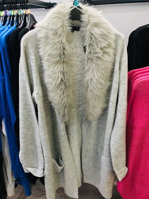 Fur sweater from F&F Clothing