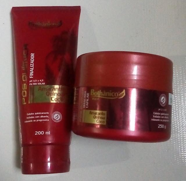 Resenha Bothanic Hair - Linha Pós-Quimica