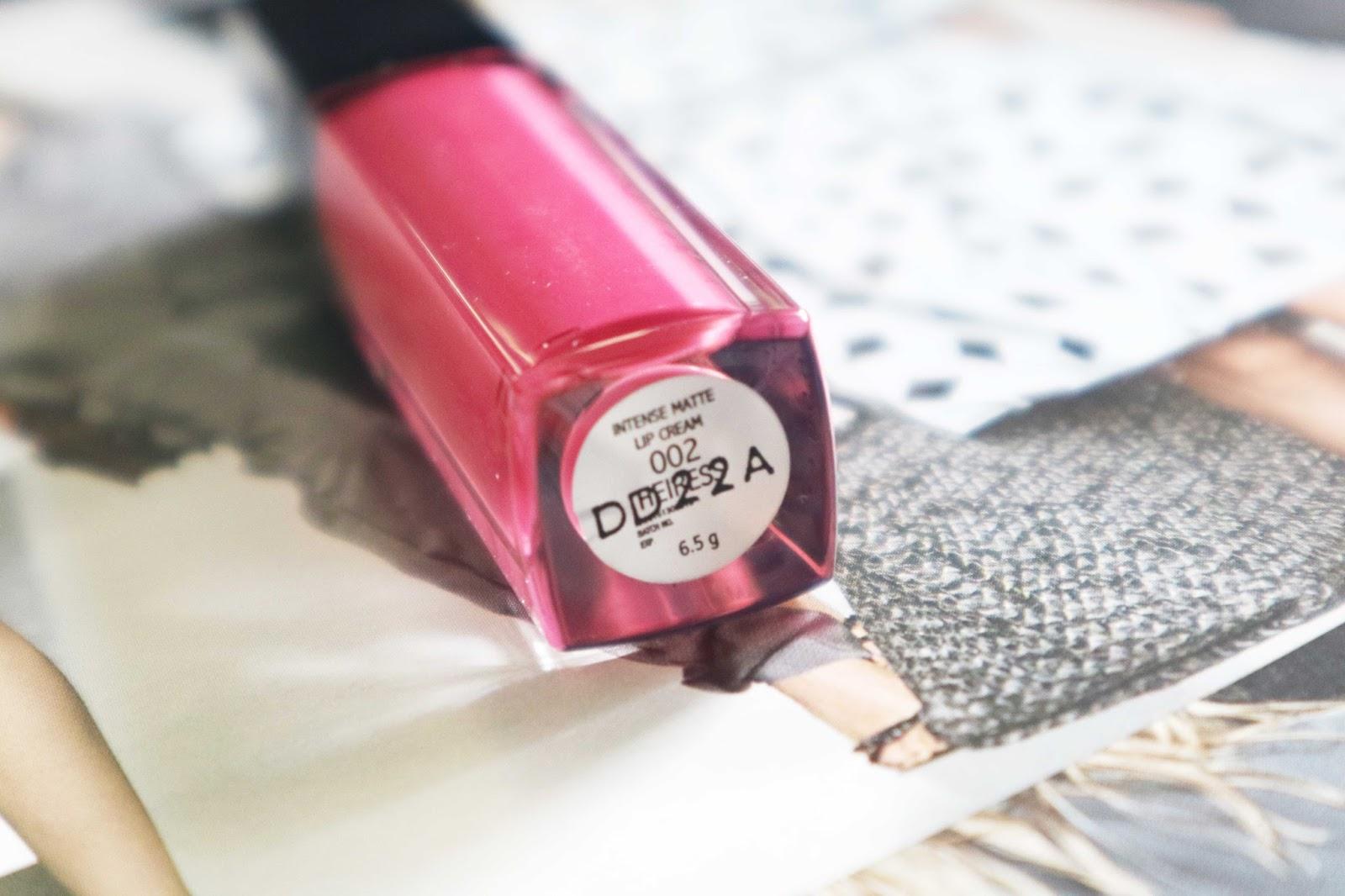 Make Over Intense Matte Lip Cream 002 Heiress Daftar Harga Terbaru Lipcream Saya Beli Yang Shade Nomor 02 Tapi Jujur Deh Ini