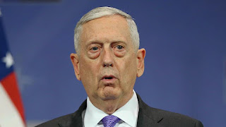 US defense chief stresses peace on Korean DMZ trip