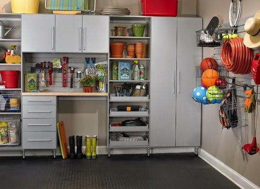 rangement placard garage. Black Bedroom Furniture Sets. Home Design Ideas
