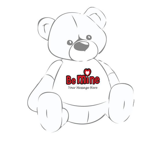 Personalized Valentine's Day Teddy Bear