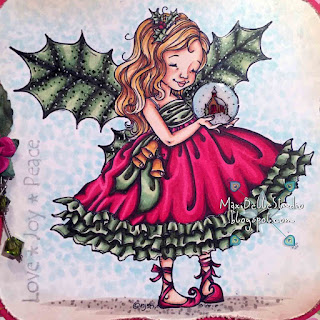 Mo Manning Christmas Fairy Holly