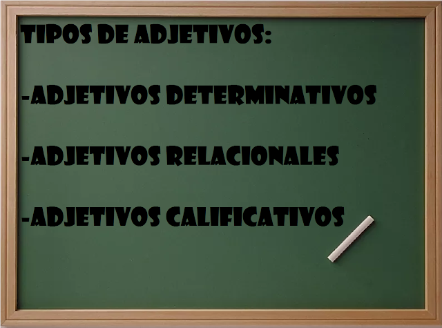 ejemplos de adjetivos