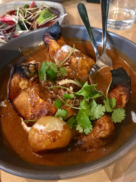 Bang Bang, Elsternwick, Massaman pumpkin curry