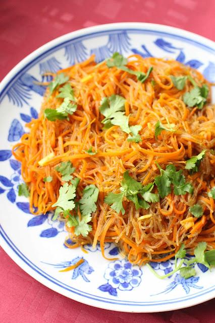 recettes chinoise nouilles de haricot